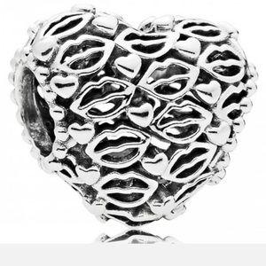 Pandora Love and Kisses Charm